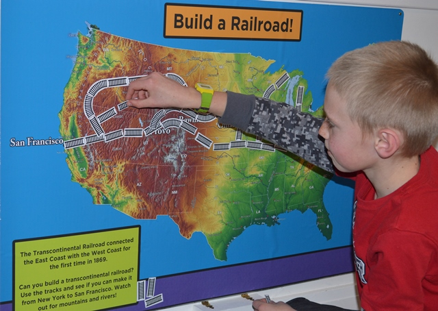2Building a Railroad!  Photo by Corrie Aiuto