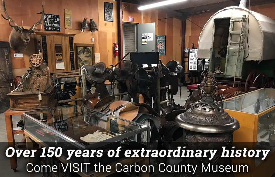 Carbon county museum welcome