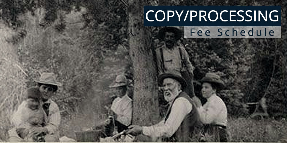 Copy & Processing Fee Schedule
